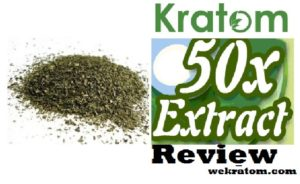 Kratom 50x Extract Review – My Step By Step Experience