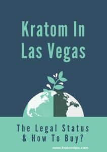 kratom legal status in las vegas