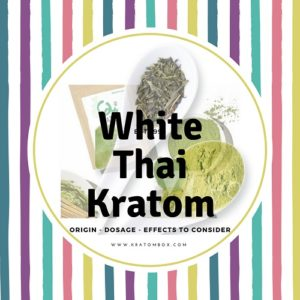 White Thai Kratom – Origin – Dosage – Effects