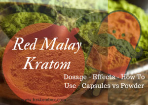 red malay kratom