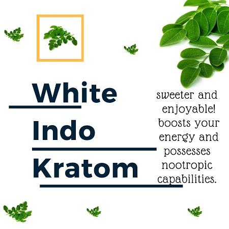 Benefits of White Indo Kratom