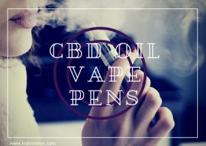 CBD Oil Vape Pens