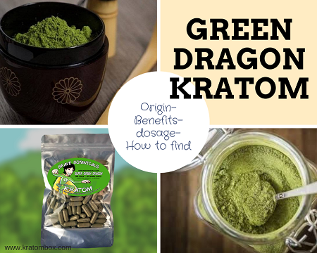Green Dragon Kratom - Everything You Should Know About