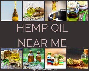Hemp Oil Near Me