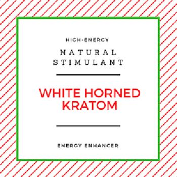 white horned kratom natural